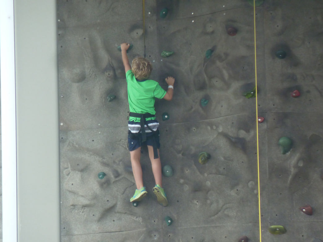 Crush the largest outdoor climbing wall in the South East