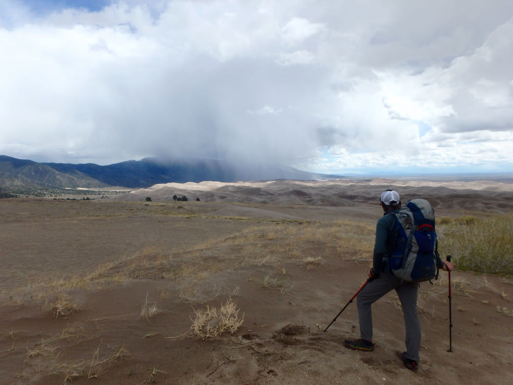 The Old Spanish Trail passed through what's now Great Sand Dunes National Park, and the park's Sand Ramp Trail encounters conditions similar to what merchants found along the historical route.