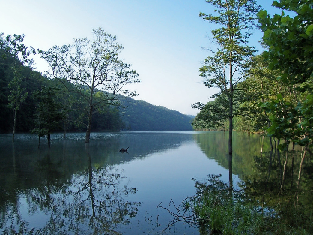 Fontana Lake is a great home base for exploration.
