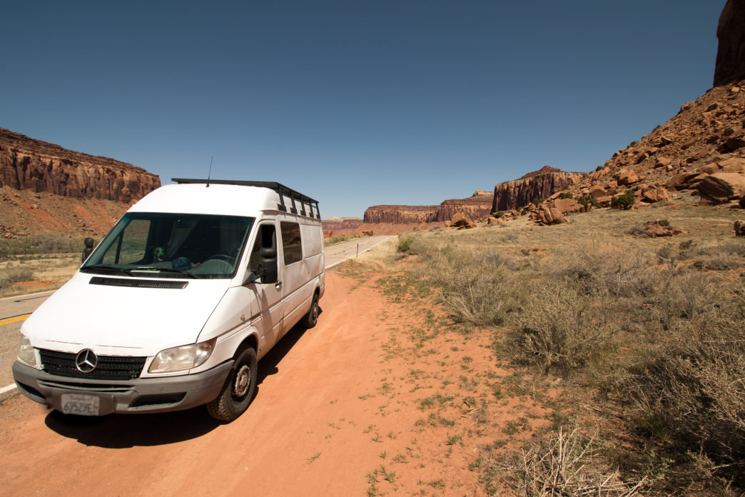Van life in the American Southwest.     Jenna Herzog