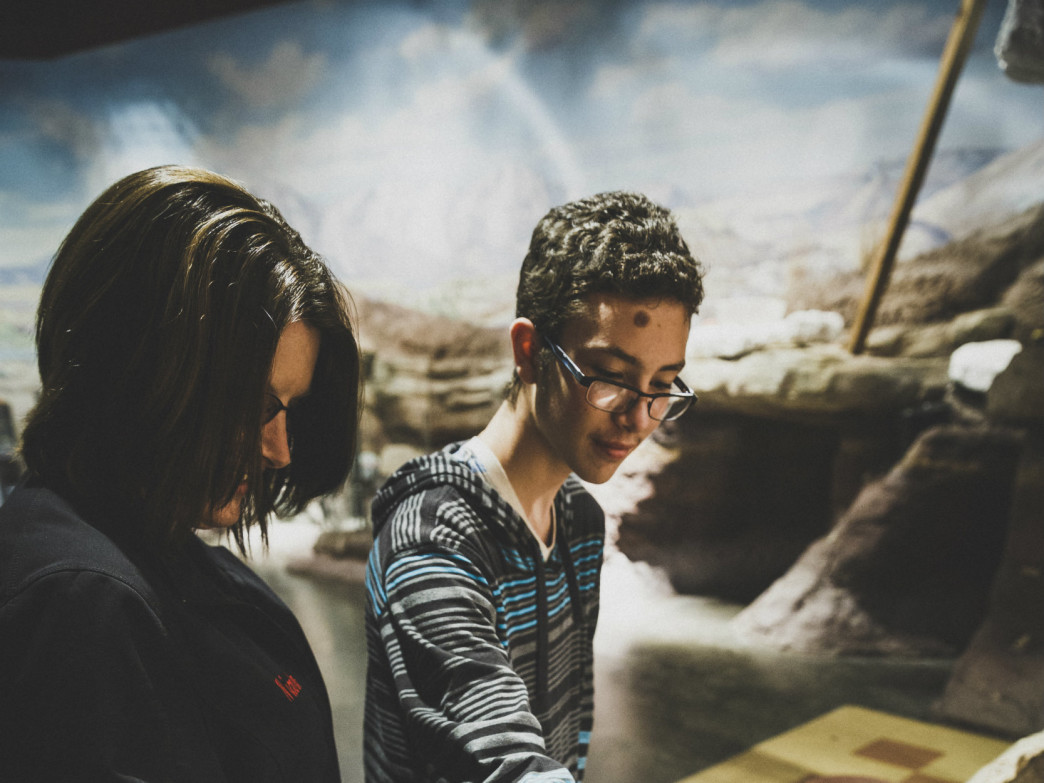 Hands-on exhibits allow visitors to get a real feel for history.