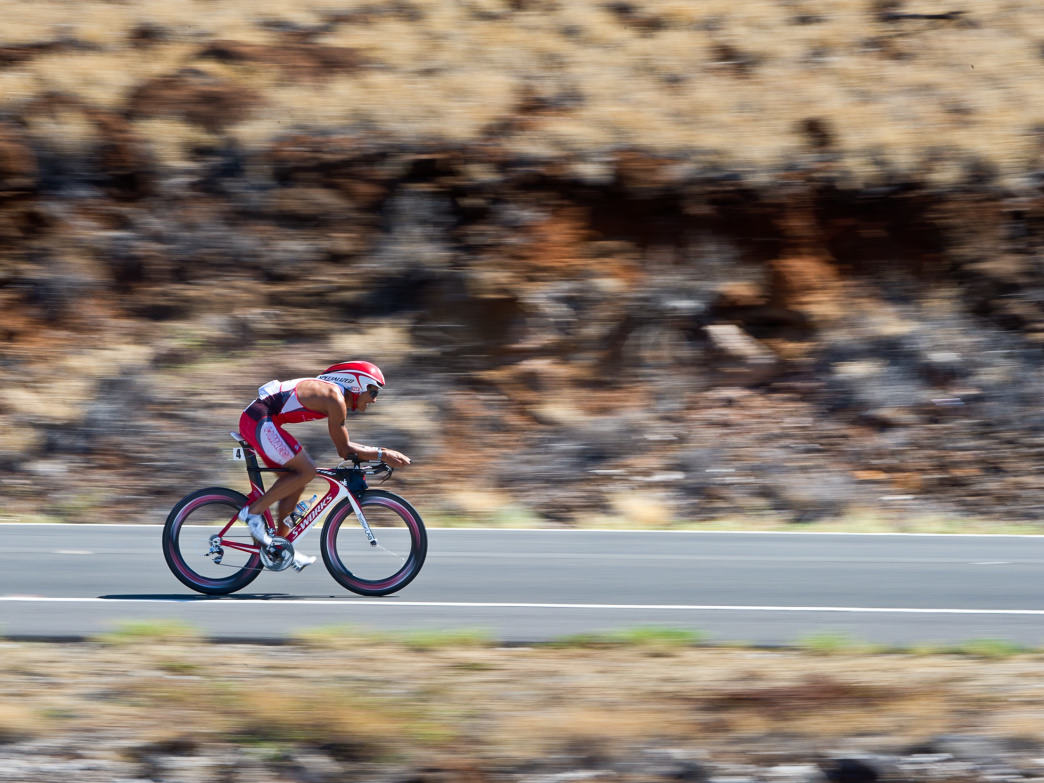 The Ironman World Championship takes place in Hawaii in October.