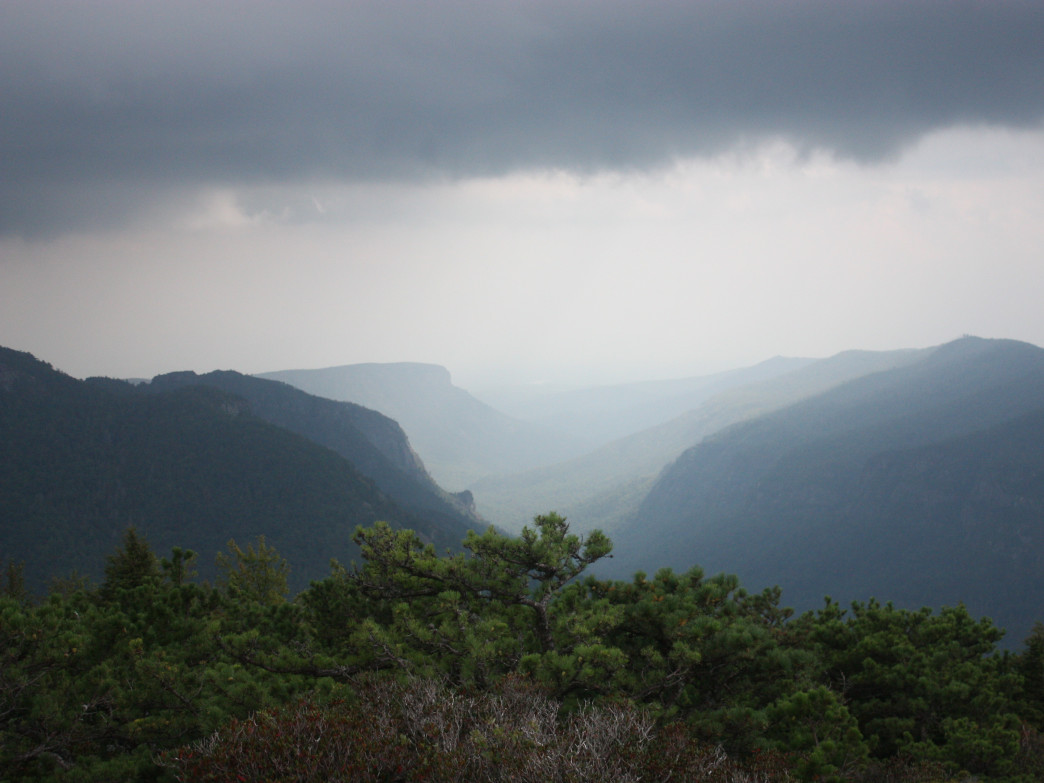 The views from the summit of Hawksbill Mountain are as stunning as anything you will find this side of the Mississippi.