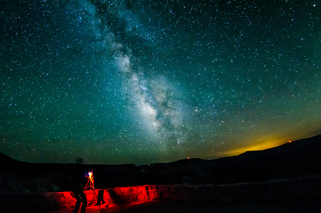 At Cedar Breaks, the Milky Way is the real star of the show.      Mike Saemisch