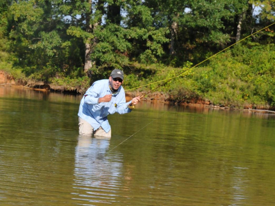 A beginner 39 s guide to fly fishing in charlotte for Beginning fly fishing