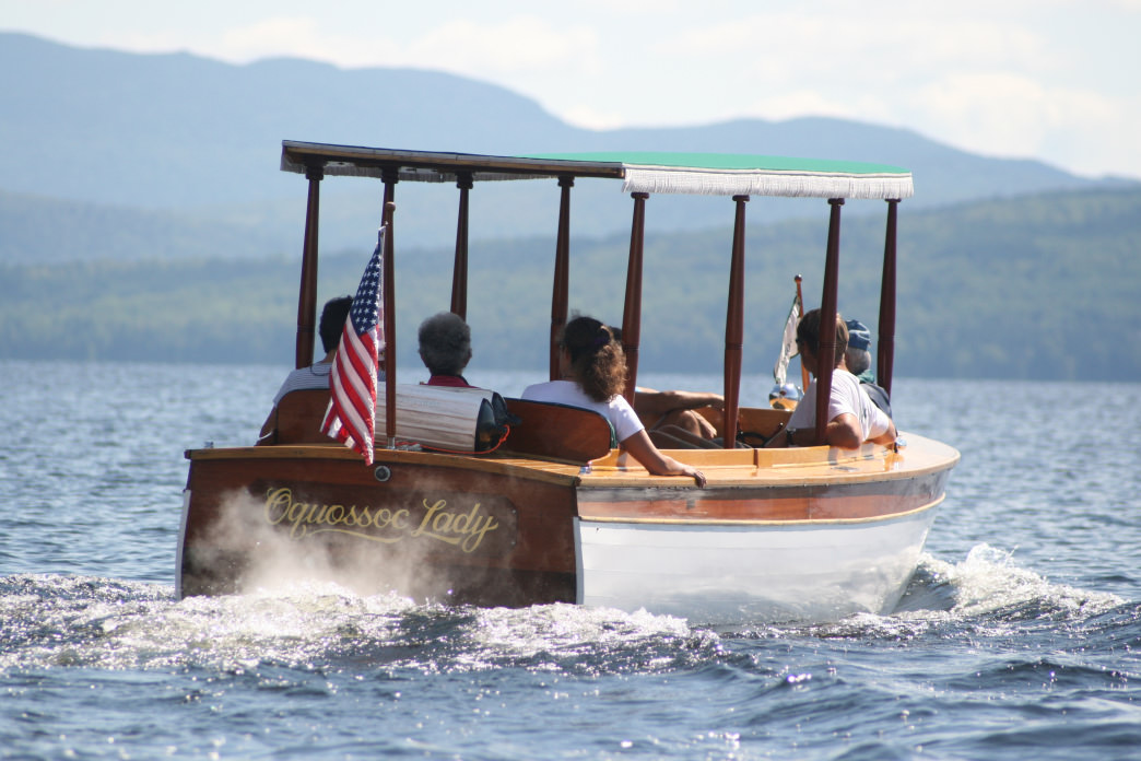 Boat Cruises on Maine's Lakes