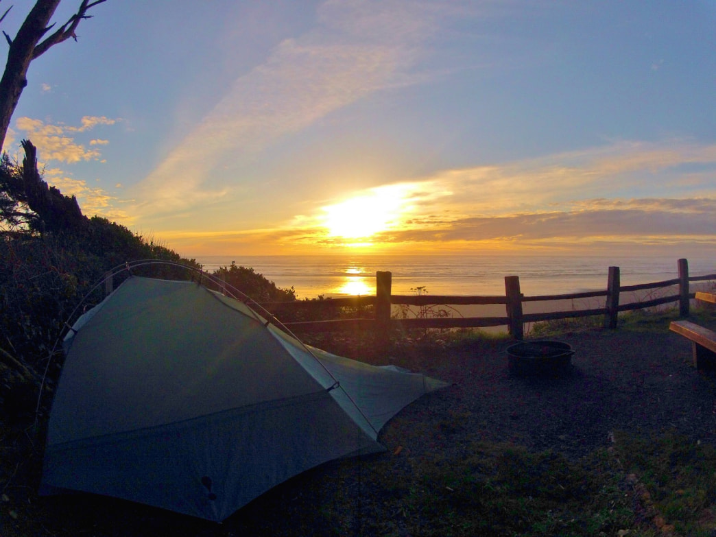 The sunsets seen from the Kalaloch Campground are easily some of the best in North America.