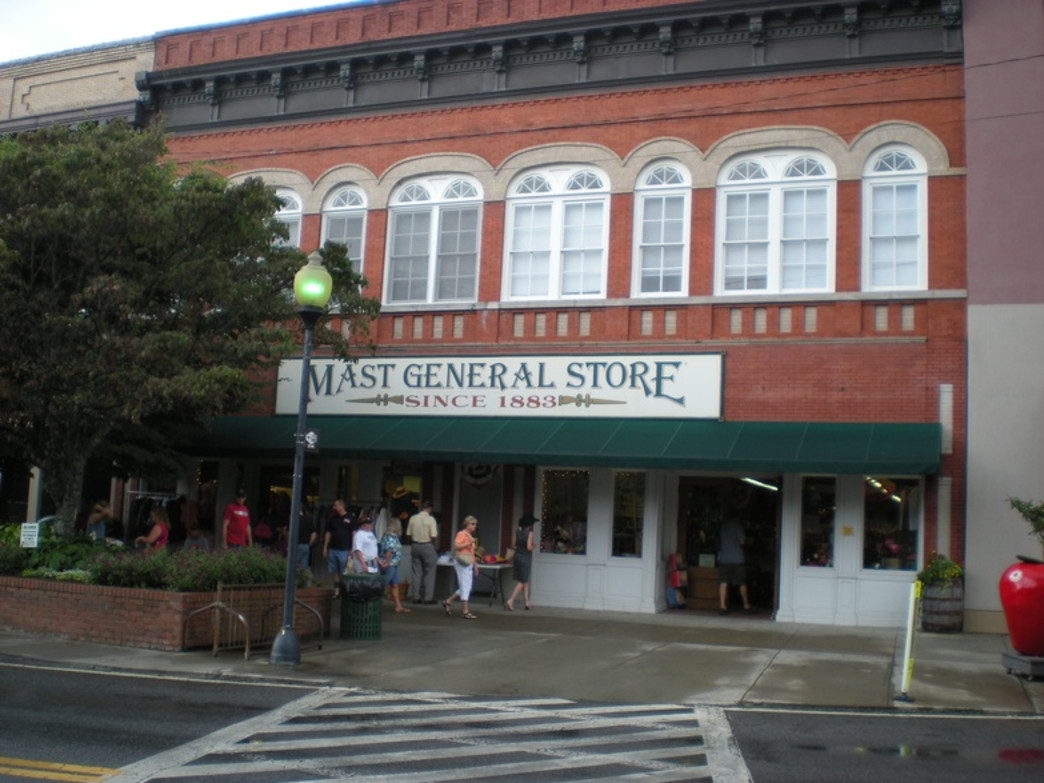 The North Carolina outpost of Mast General Store is a perennial favorite.
