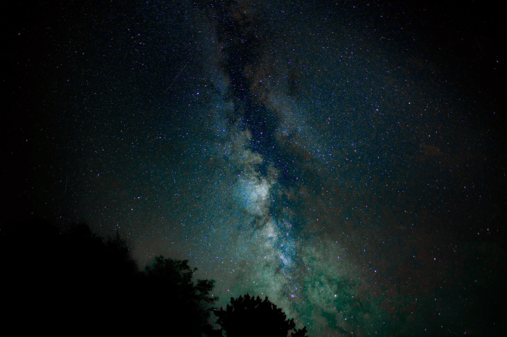 Some Alabama destinations offer excellent views of the Milky Way.     Nathan Anderson