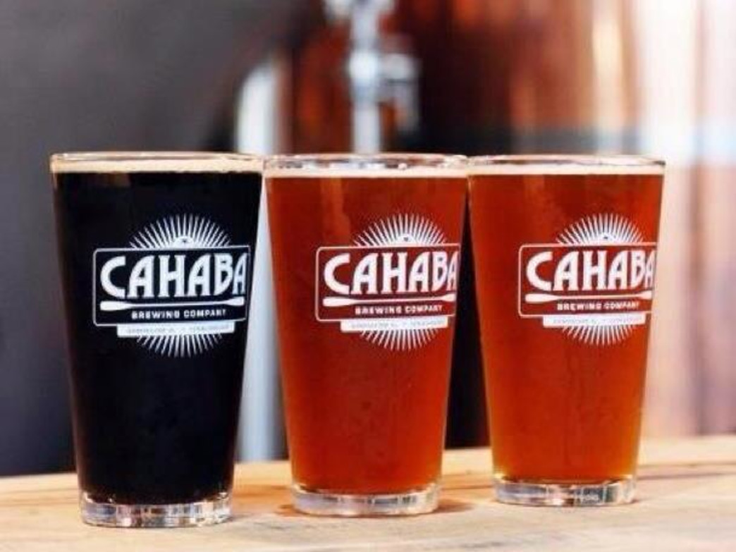 Colorful and flavorful selections from Cahaba Brewing Company.