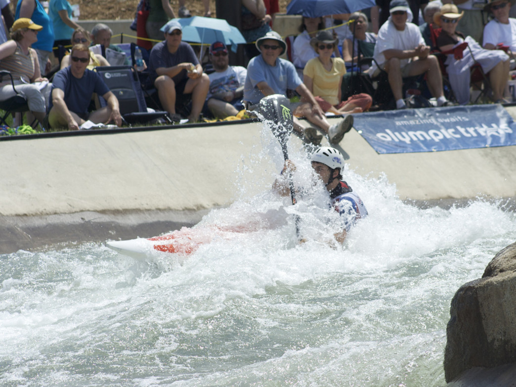 The USNWC has made whitewater kayaking an exciting spectator sport..