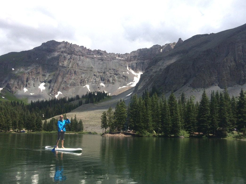 Alta Lakes outside of Telluride is a heavenly spot with drive-up access to the lake.
