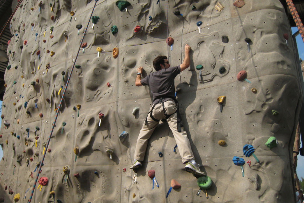 A gift certificate to a Charlotte-area climbing facility or climbing guide makes an excellent present.
