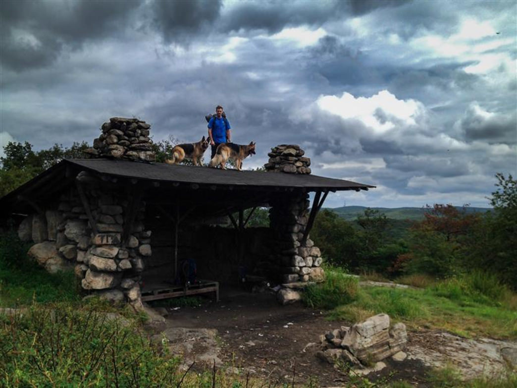 Harriman State Park Backpacking Camping