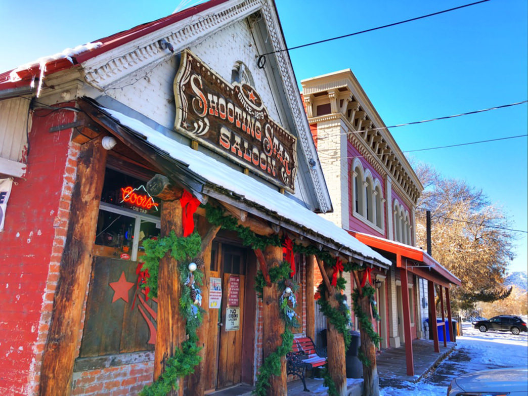 The Shooting Star Saloon has operated continuously since 1879.