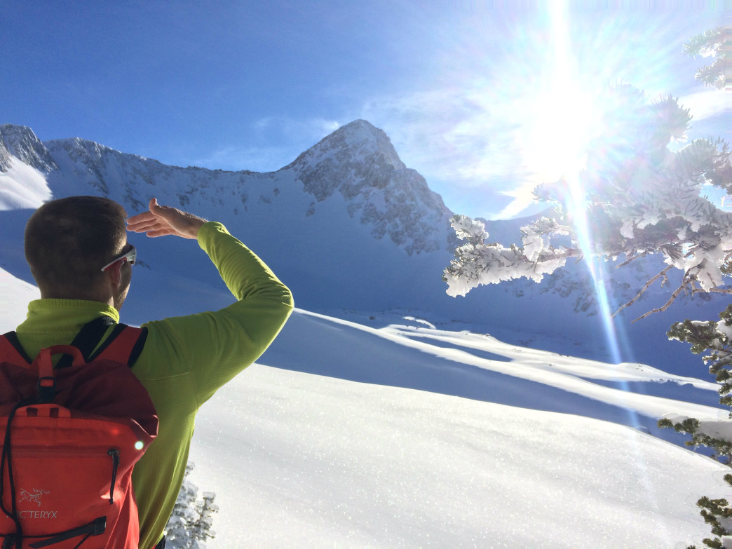 Scoping out the weather is an important component of a 100-day ski season.