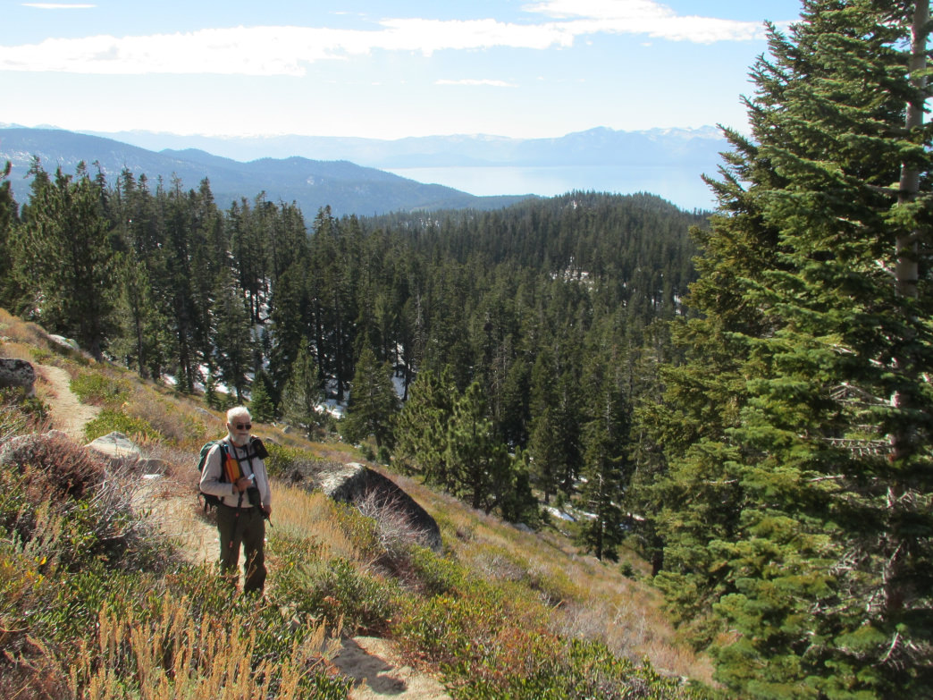 Snow Valley Peak offers great views of Lake Tahoe and the Carson Valley.