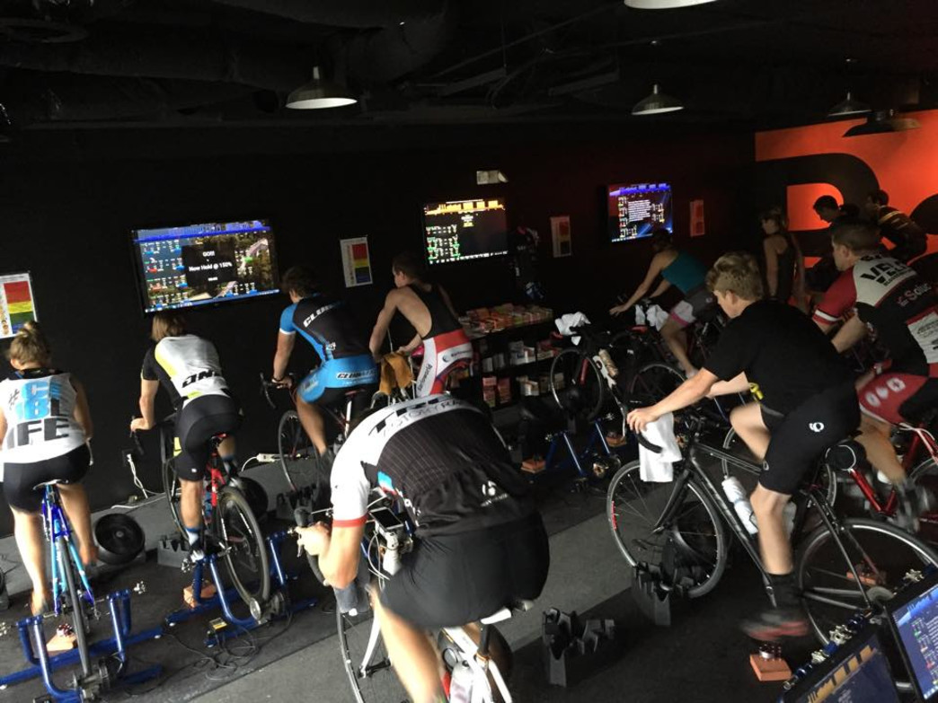 Indoor training strengthens legs in ways outdoor riding doesn't