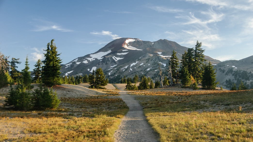 Bend is brimming with awesome hikes, like this one to the South Sister volcano.