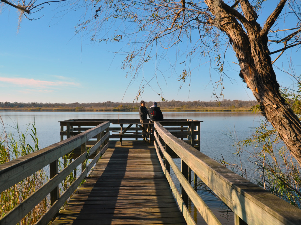 For a quiet weekend getaway head to Blakeley Historic State Park.