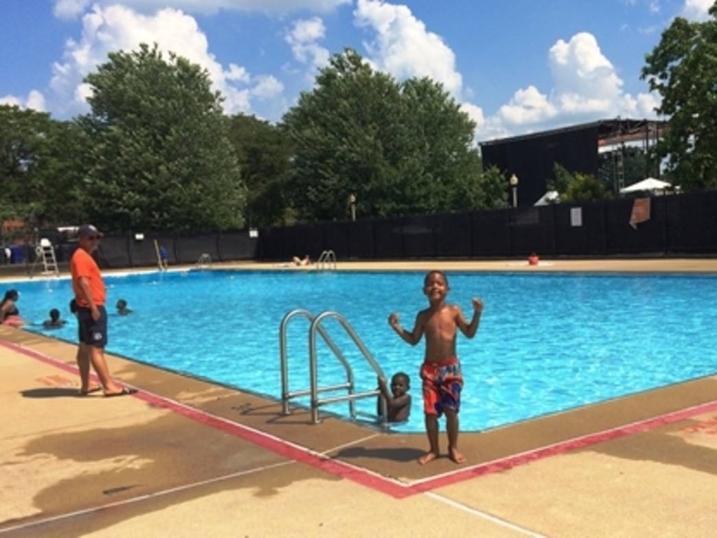 On the near west side, Union Park Pool features 50-yard lap swimming.