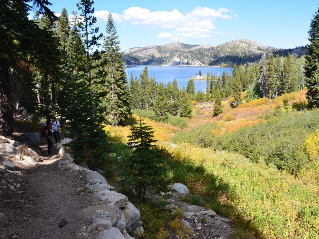 Marlette Lake along the Tahoe Rim Trail.