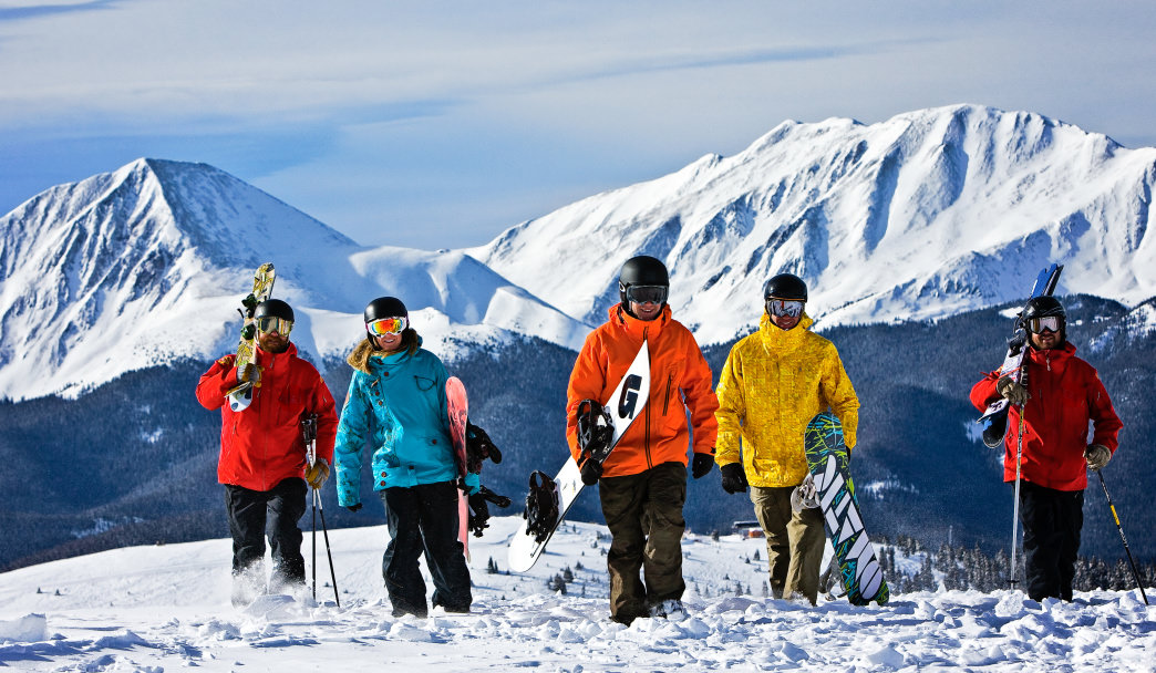 Take a snowcat ski tour or head to the peaks for more difficult runs. © Vail Resorts