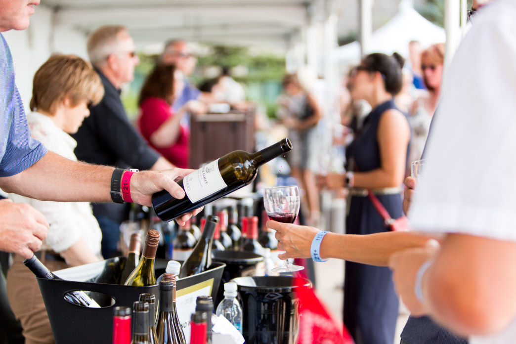 The town is filled with wine lovers for the Park City Food and Wine Classic.