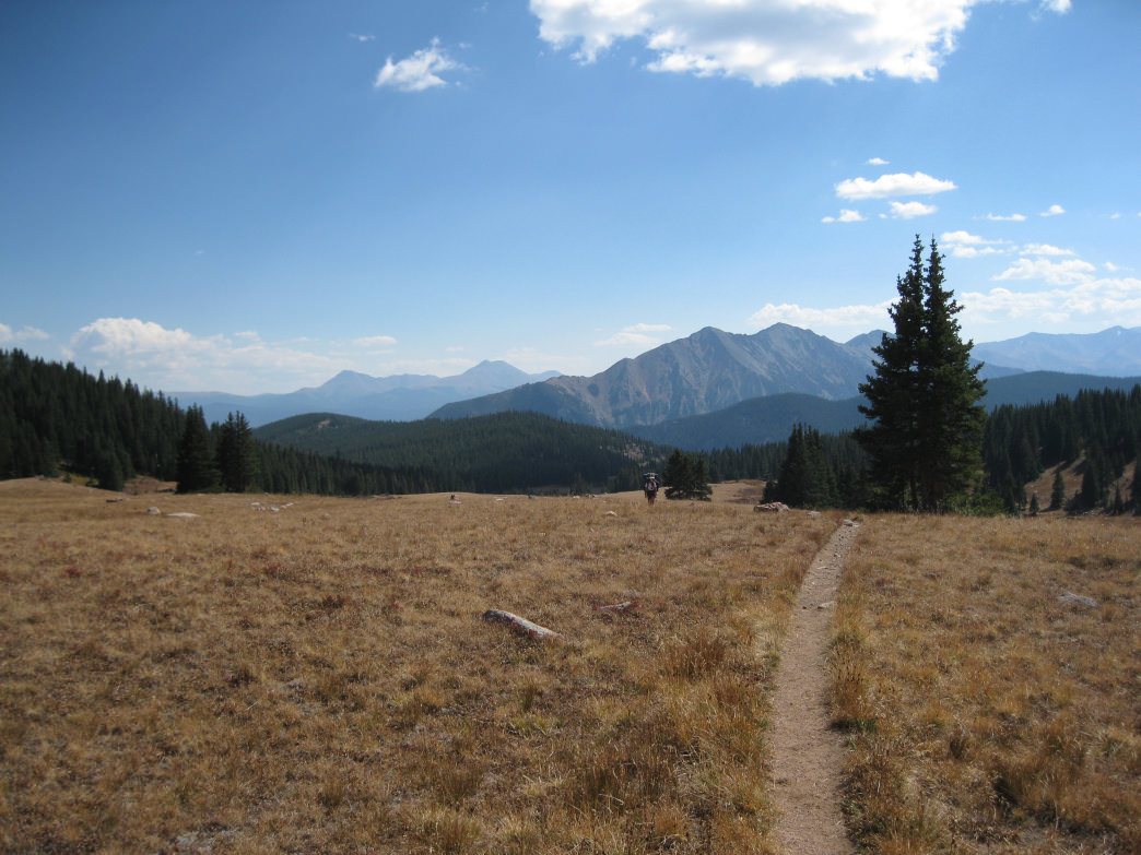 Storey has had most of his adventures in Colorado. Gore Range Trail, near Silver Plume. James Dziezynski
