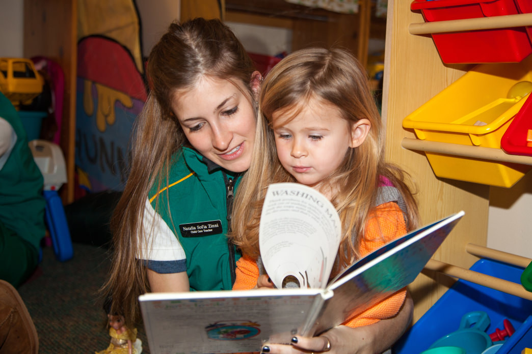The childcare programs at Deer Valley are a good fit for those who love kids.
