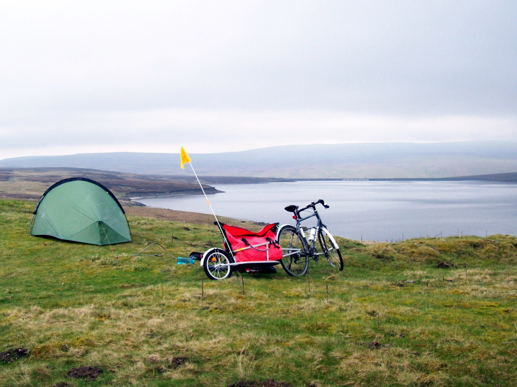 Bike touring is a great way to explore the outdoors.