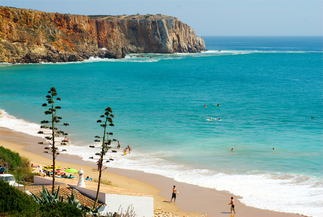 The turquoise beaches of Portugal are often far less crowded than their counterparts in other European countries.