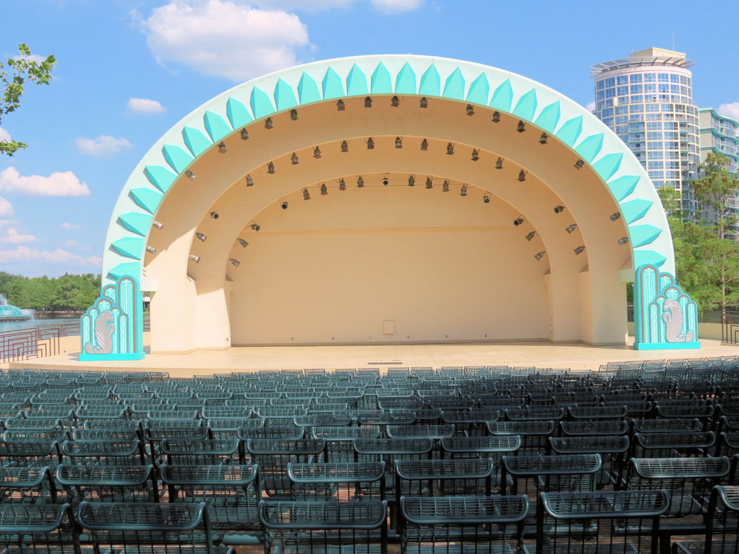 Disney Amphitheater at Lake Eola Park