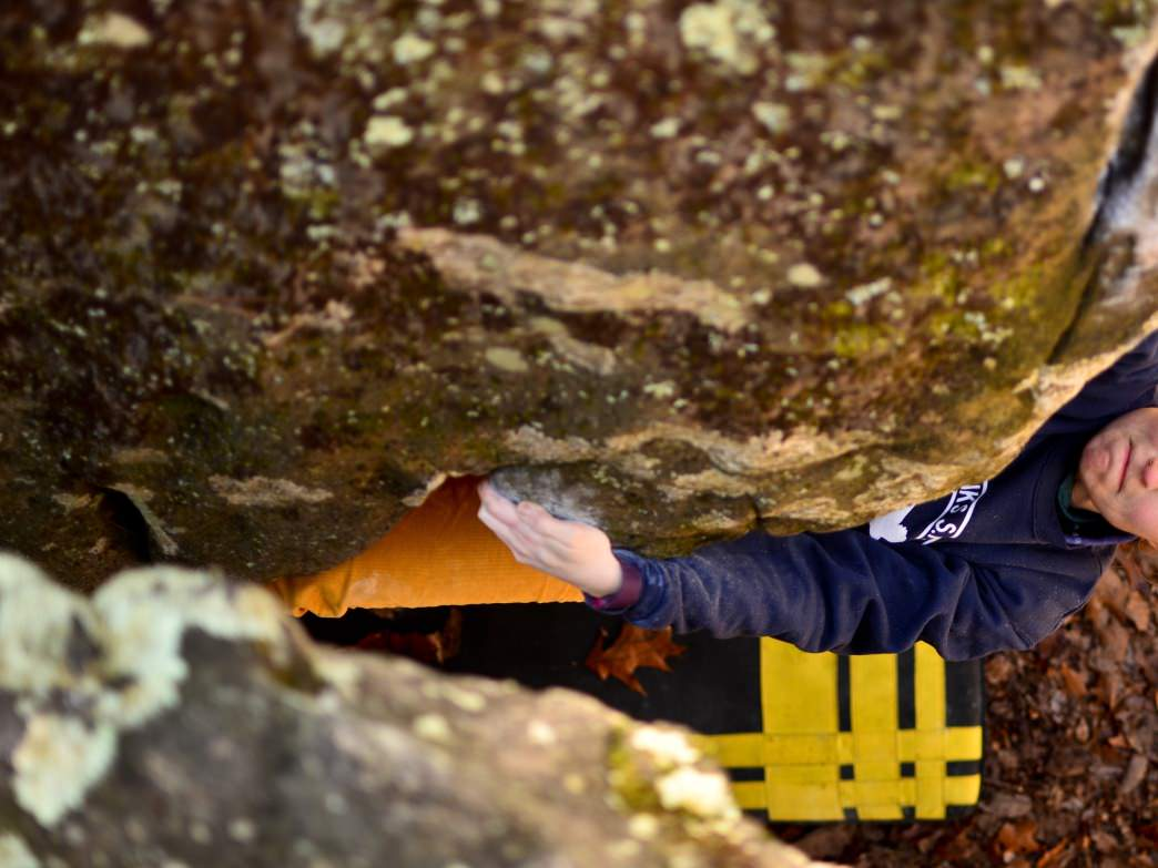 Good holds at a steep angle makes Hero (V3) a must-do.