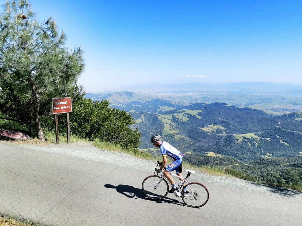 Cycling at Mt. Diablo