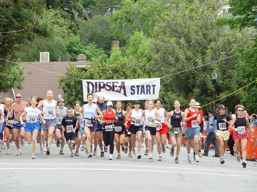 Several local groups offer training runs for the Dipsea Race.