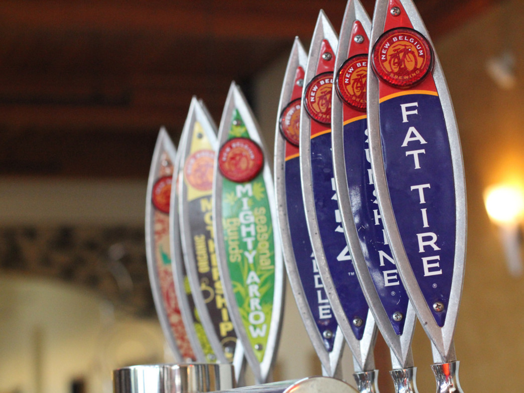 Be sure to stop and grab a pint at New Belgium Brewery.