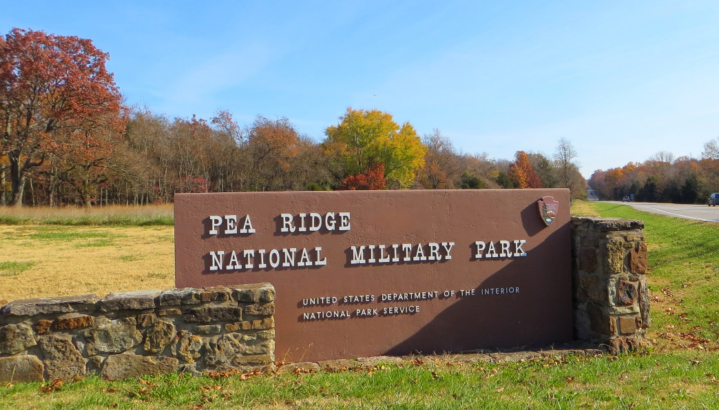 Pack a picnic and head out to the Pea Ridge Military Park for a hike.