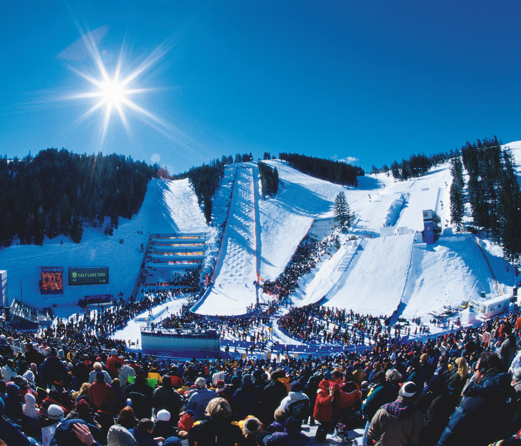 The moguls course at Deer Valley Resort is considered one of the best in the world.