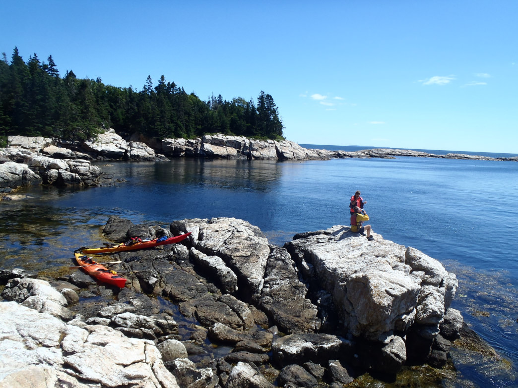 Kayakers consider Muscongus Bay one of Maine's most picturesque rocky coast paddles.