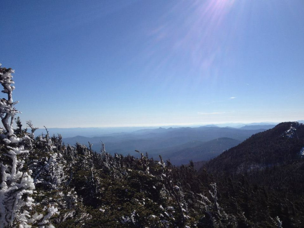 Expansive views of Southern Appalachian Alpine Forest make the trek worthwhile