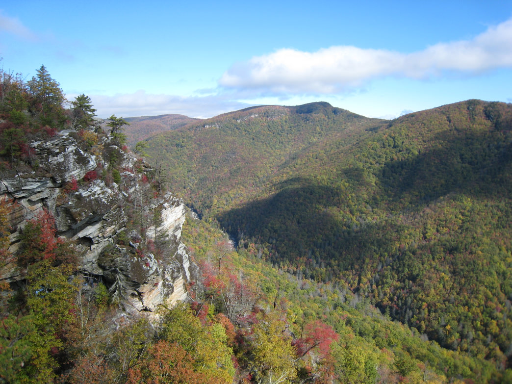 Weekend trip to Linville Gorge & Grandfather Mountain