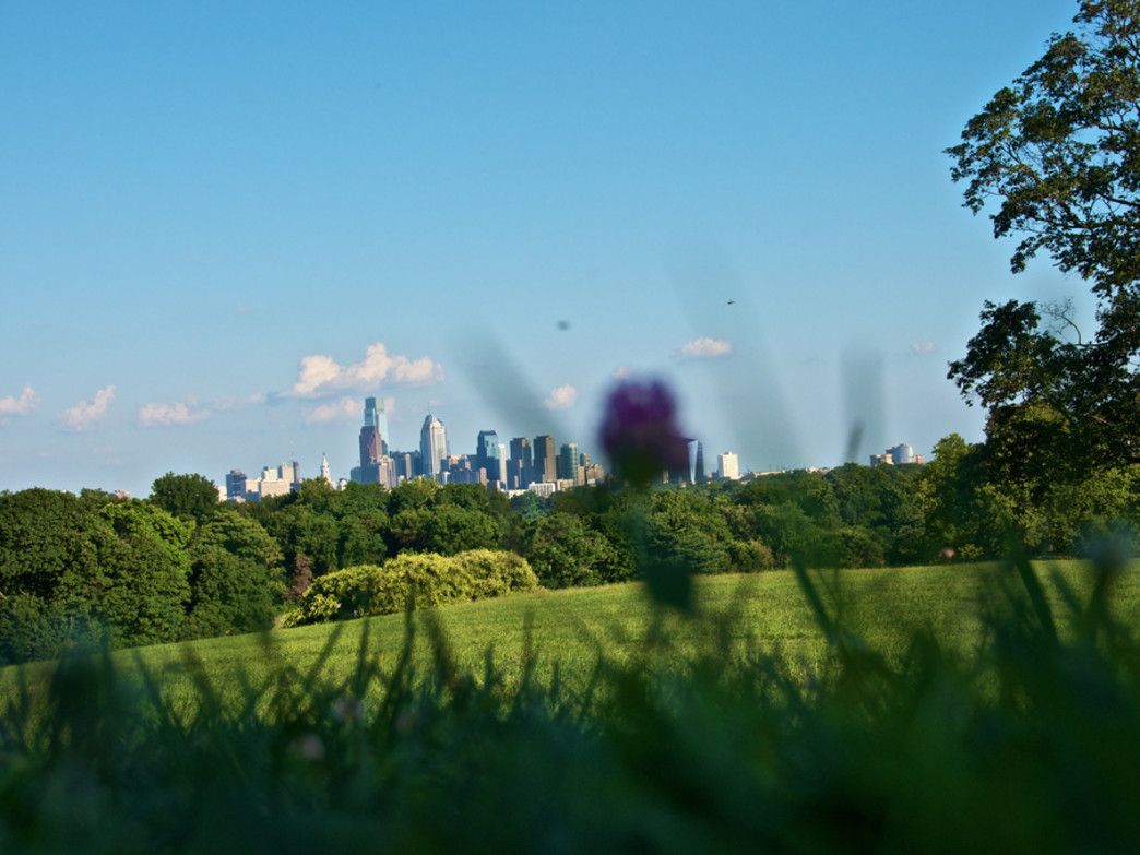 Belmont Plateau offers the best you of the Philadelphia skyline that you can find