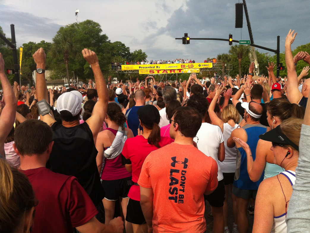 The Charleston Running Club is just one of the organizations that has helped grow running in the city.