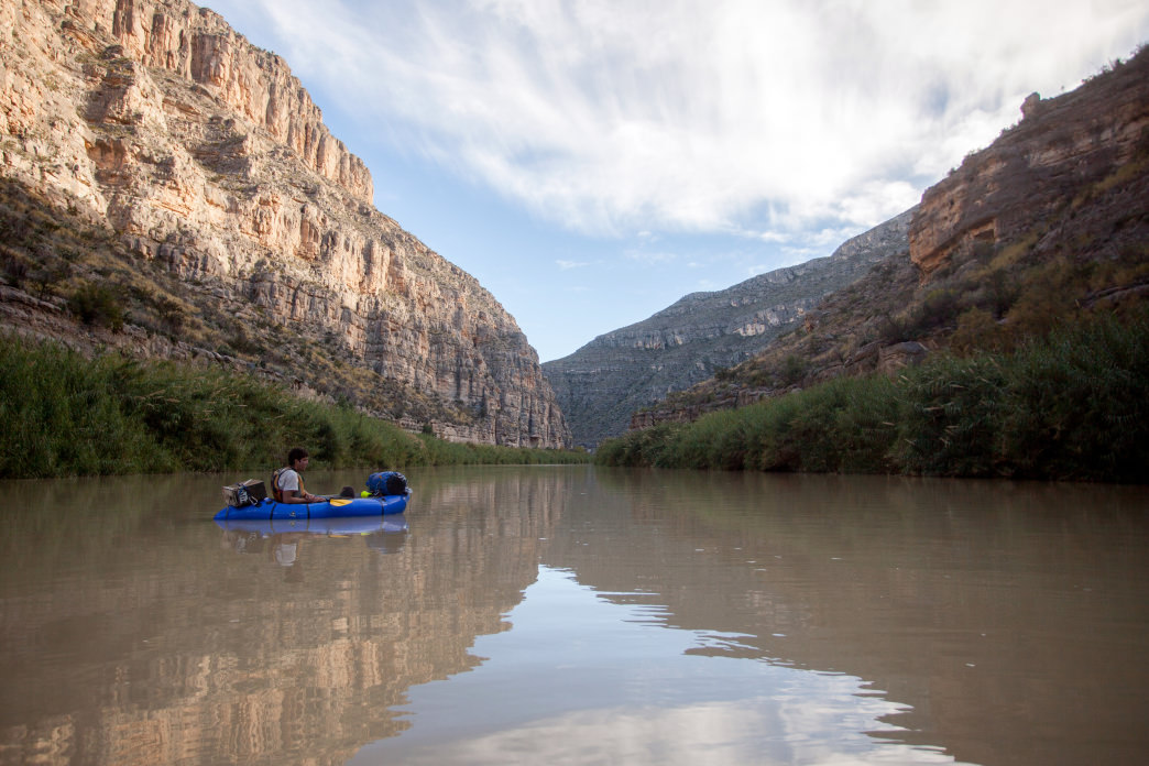 Day 6—a quiet float on the Rio Grande.     Richard Forbes