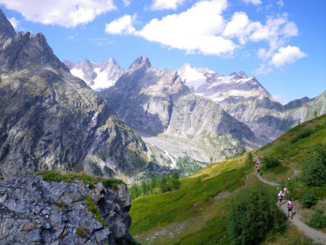Szoradi says the Ultra-Trail du Mont-Blanc was one of his most memorable experiences on the trail.