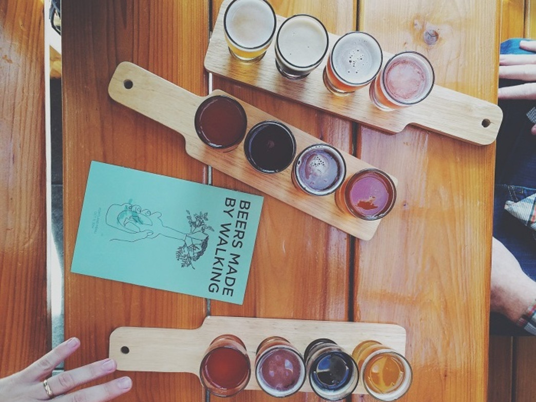 Tasting events generally follow each Beers Made By Walking slate of events each fall.