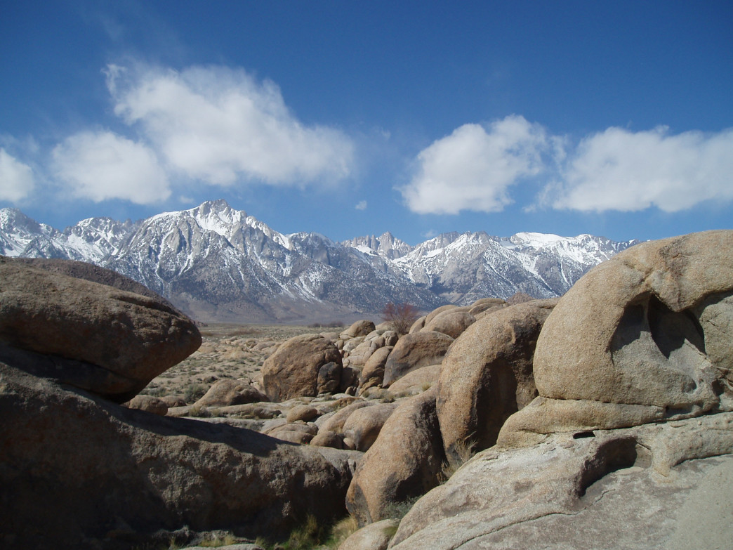 Mt. Whitney above Lone Pine.