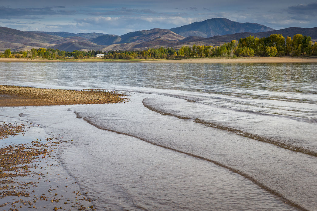 In the summer, Pineview Reservoir is perfect for watersports and swimming.