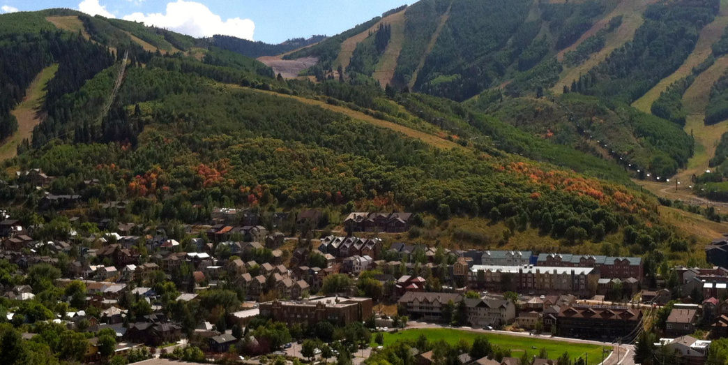 Find a hiking trail just outside of Park City.